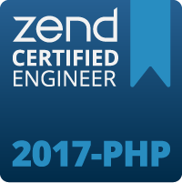 Zend PHP 2017 Certification Badge