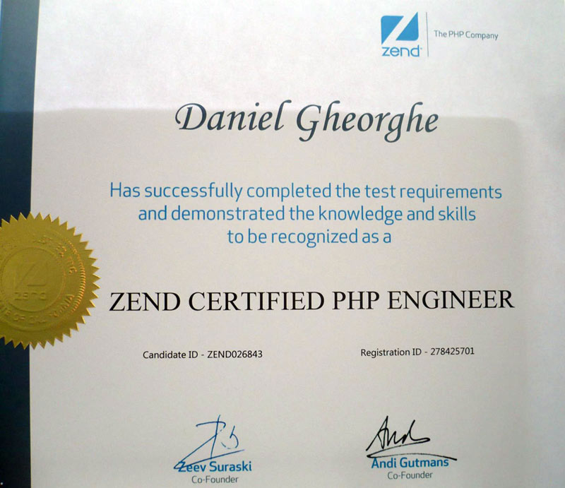 Becoming A Zend Certified Php Engineer A Career Changer For Php