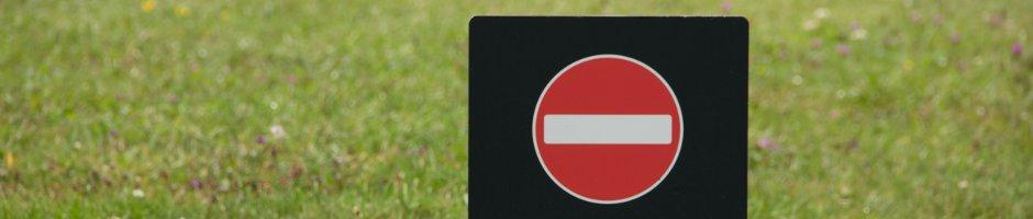 denied sign